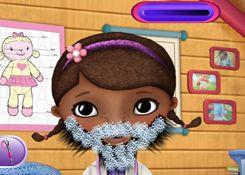 Juego: Doctora Juguetes Barbería http://doctorajuguetesjuegos.com/docbeardshave.html