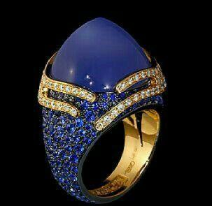 Azul intenso azul.