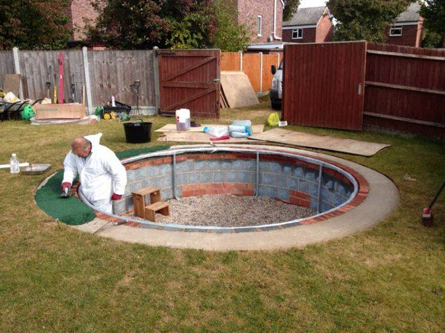 Inspirational Safe and Cool A Sunken Trampoline For Kids
