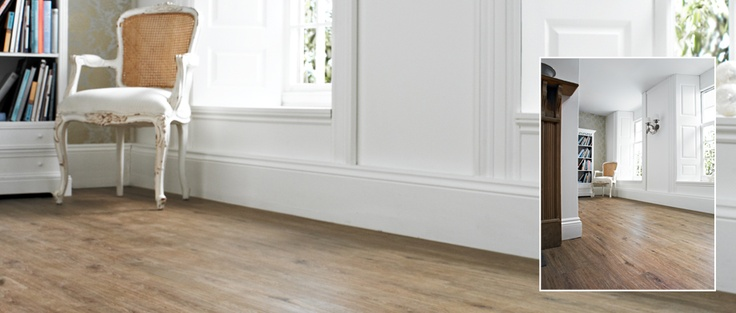INNOVA - Wild Oak - A sumptuous and truly natural looking wood effect, capturing all the beauty and charm of oak. Available from Rodgers of York #Interiors #Flooring