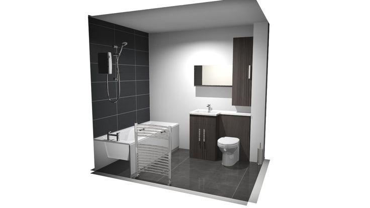 image description | Bathroom mirror, Lighted bathroom ...