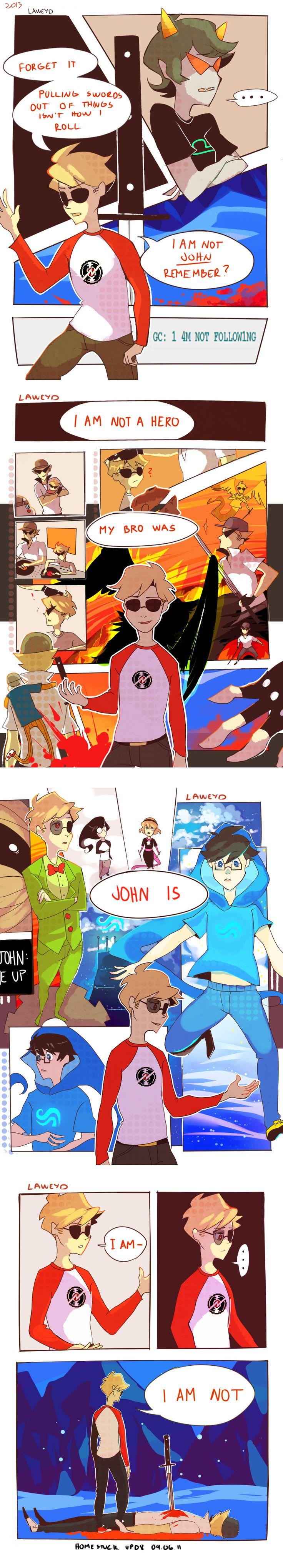homestuck comic (upd8- 04.06.11)- i am not a hero by LaWeyD.deviantart.com on @deviantART