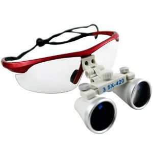 Awesome  New Design X Dental Surgical Binocular Loupes Dentist mm