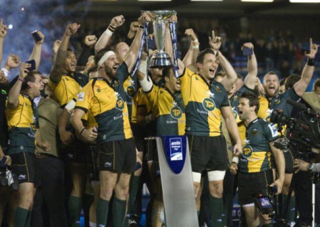 Saints beat Bath to win last season's Amlin Challenge Cup (picture: Linda Dawson)