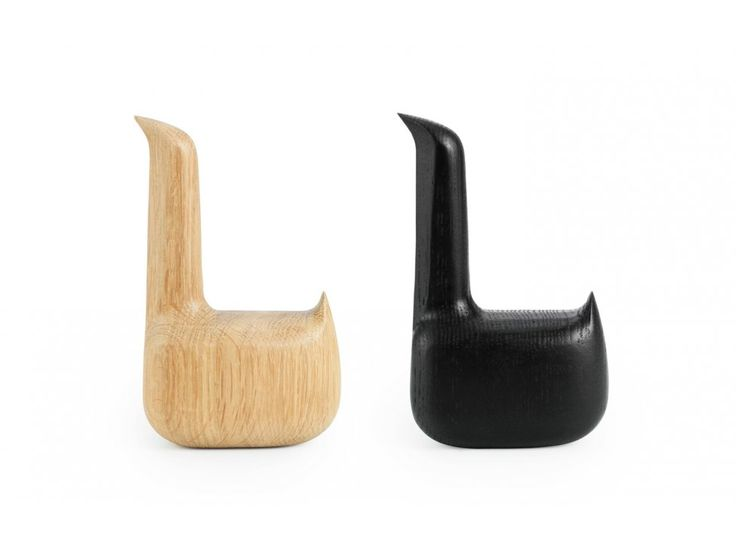 Figurka Dekoracyjana Swan jasny dąb — Figurki dekoracyjne Normann Copenhagen — sfmeble.pl