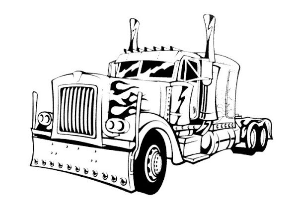 Race Car Coloring Pages Printable Free Transformers Coloring