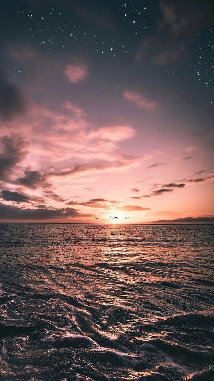 Wallpaper für iPhone, Sunset, Wallpaper, Natur, Bildschirmsperre # iPhone7Plus