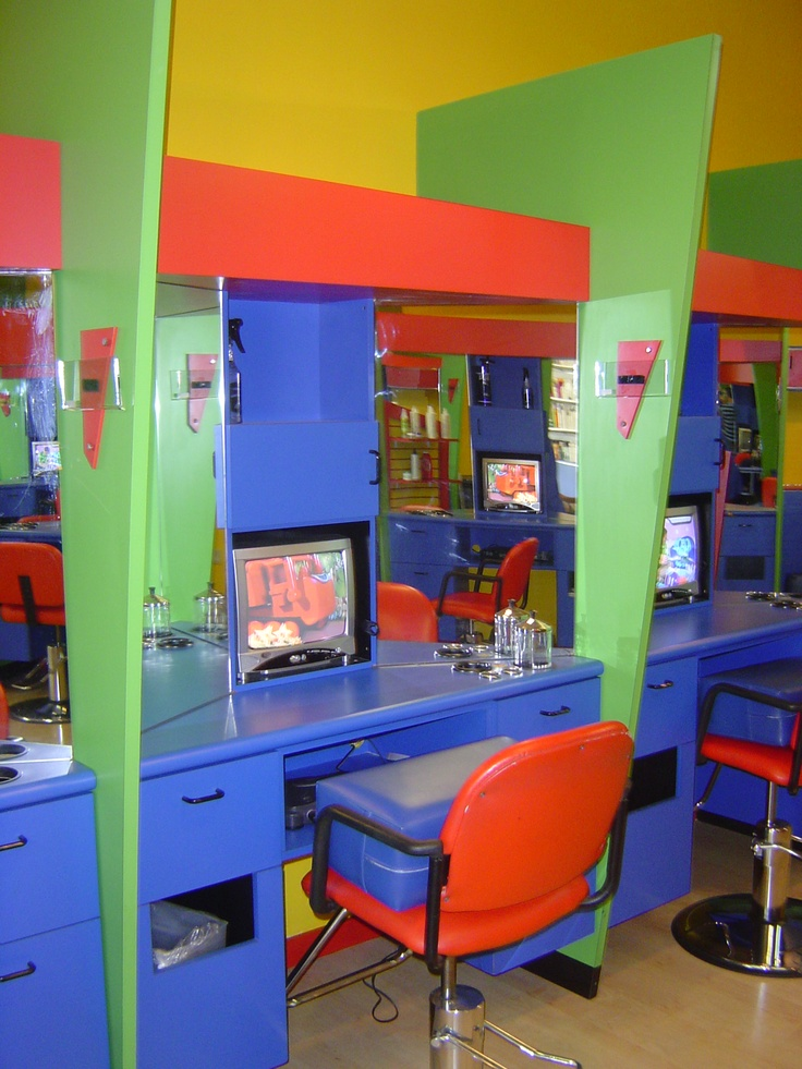 Entertainment for kids so they love to come get their hair cut! Visit us at
