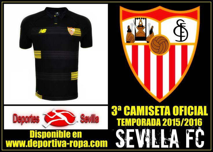 ¡¡3ª Camiseta Oficial del Sevilla FC New Balance para la temporada 2015/2016 ya disponible en http://www.deportiva-ropa.com/sevilla-fc/2284-comprar-camiseta-sevilla-fc-2015-2016.html !! #FelizMartes #VamosMiSevilla #Sevilla #SevillaFC #DeportesSevilla #RopaDeportiva #Deportes #Sevillismo #Sevillistas #ComienzaUnaNuevaEra #NewBalance #CamisetaSevilla