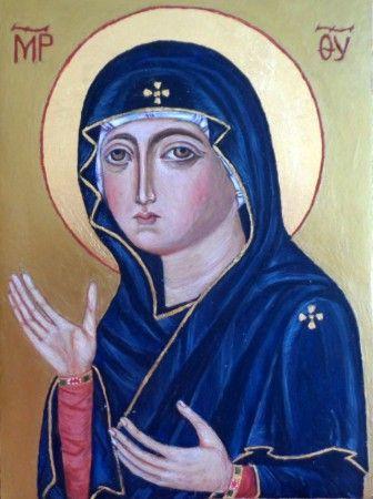 Matka Boża Orędowniczka/Madonna z Wieczernika.