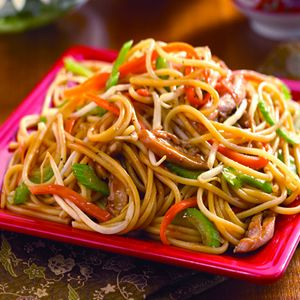 Chow mein stir fry  (image/link is placeholder for a recipe from a book)