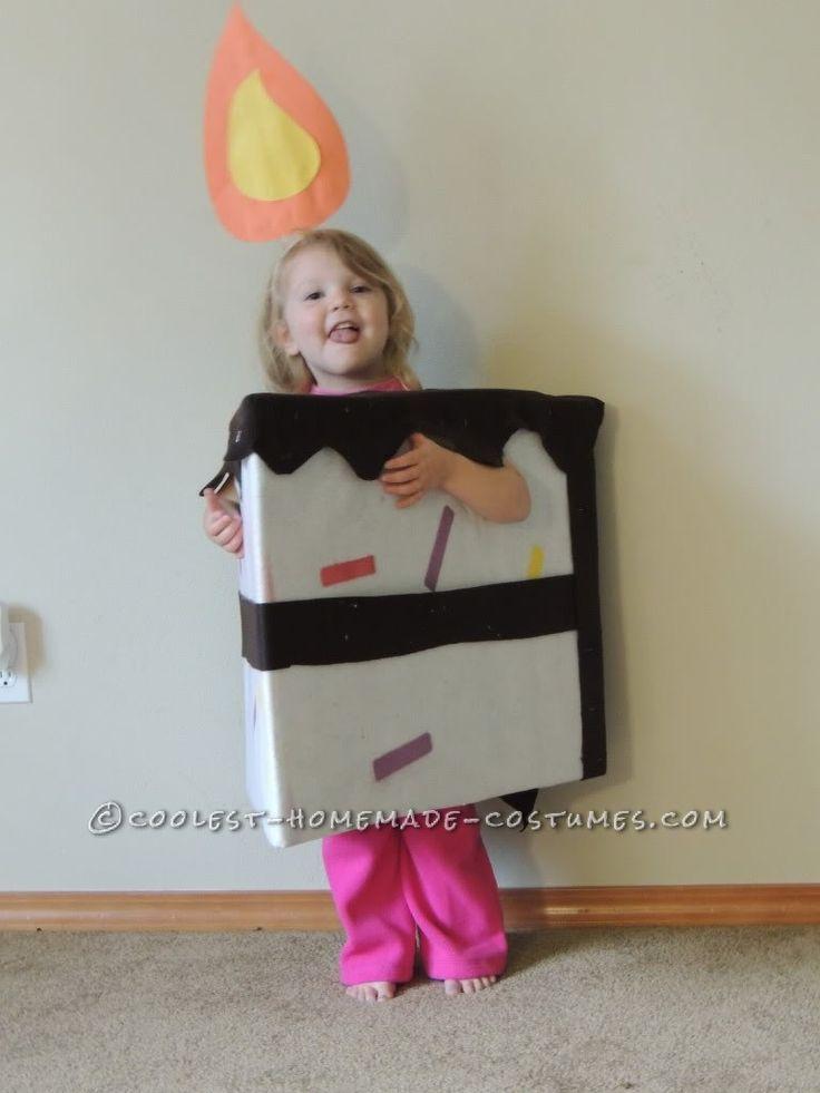 super cute last minute piece of cake toddler costume - Last Minute Toddler Halloween Costumes