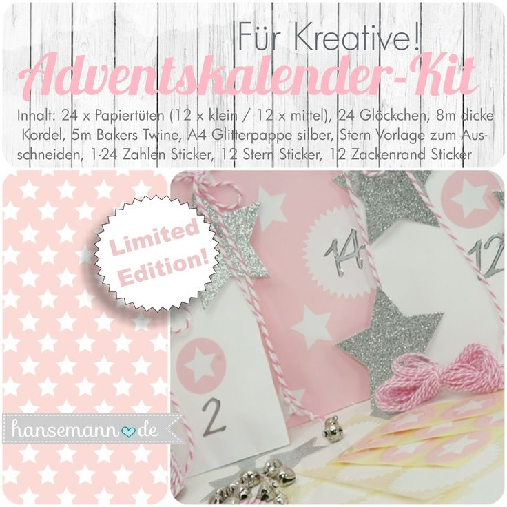 made-by-imme.de: Adventskalender-Kits für Kreative