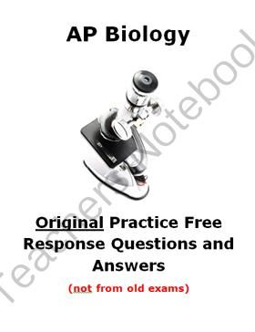 old ap biology essay questions and answers Essay on ap biology lab 1 questions is effective at dating to a maximum of 40 000 to 50 000 years old ap biology 2177 words | 9 pages ap essay answers.