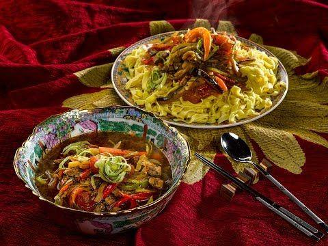 Уйгурский лагман. Кухня с акцентом - YouTube