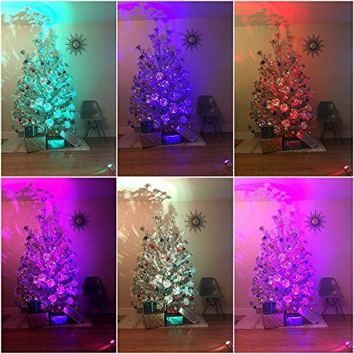 Silver Tinsel Christmas Tree With Color Wheel: 296 Best A Mid-Century Modern Christmas Images On