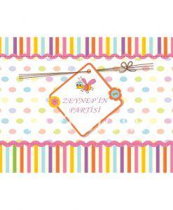 Doğum günü parti süslemeleri için Sevimli Arı Temalı Amerikan Servisi ürünümüzü online olarak uygun fiyatlar ile satın alabilirsiniz