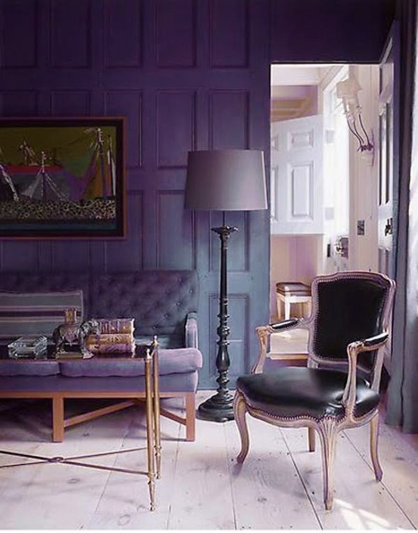 Color Trends 2014. Rich, inky tones draw inspiration from past eras.