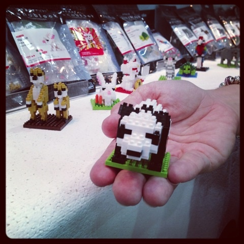 What do you think of this? It's like teeny tiny Lego, but heaps more challenging! #toys #nanoblocks