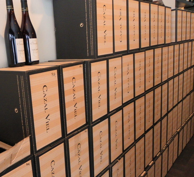 Our very own wall of Simon Selosse champagne