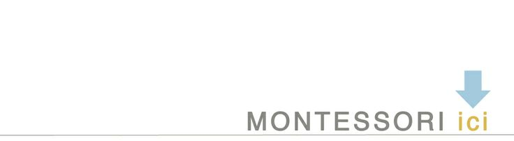 A blog that I love ~ Montessori ici   I get to read up on montessori practices AND refresh my French!   (It is written in both languages :)