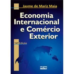 Livro - Economia Internacional e Comércio Exterior - Jayme de Mariz Maia