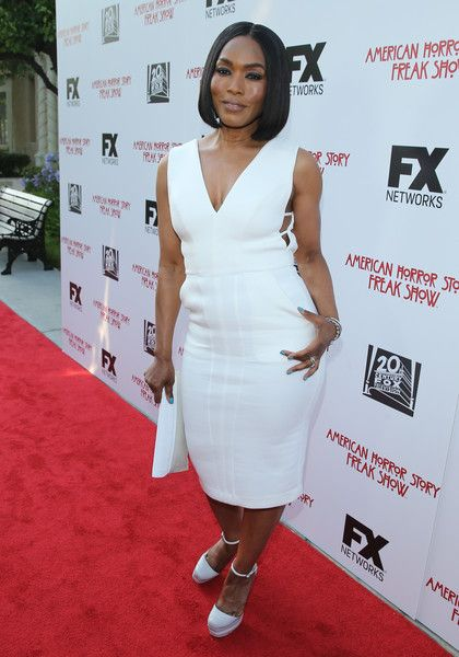 """WHITE HOT: Angela Bassett Slays At """"American Horror Story: Freakshow"""" FYC Event"""