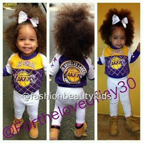 Lakers Baby..Adorable! This will be my child