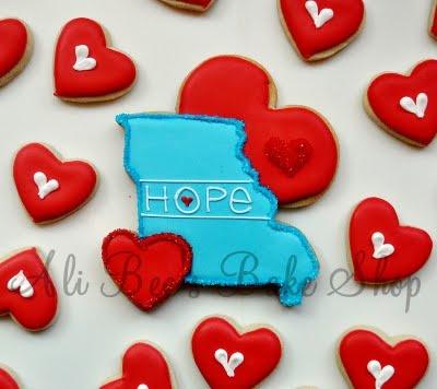 Missouri CookieSugar Cookies, Favorite Things, Decor Cookies, Joplin, Missouri Cookies, Things Beautiful, Heart Surroundings, Hope, Cookies Inspiration