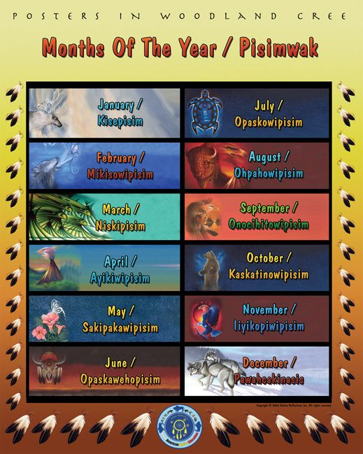 cree language poster   woodland cree posters add native language posters to your lesson plan ...