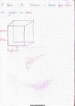 Quaderno di geometria classe terza