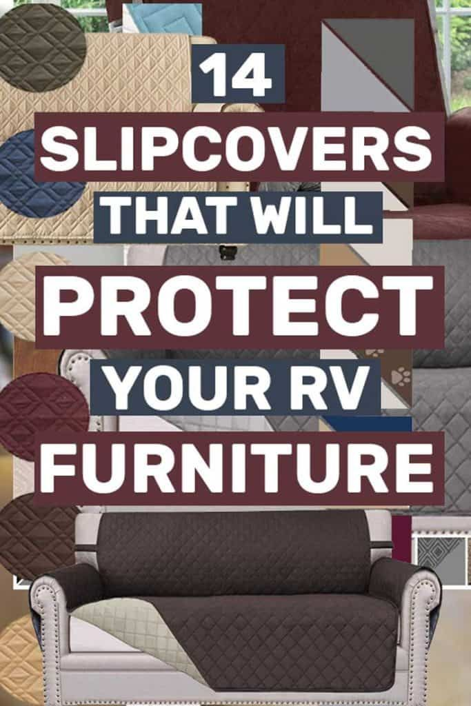 15 Furniture Covers That Will Transform Your Rv S Look Article By Vehq Com Vehq Rv Vehicles Rvcamping Rvli Rv Furniture Furniture Covers Camper Furniture