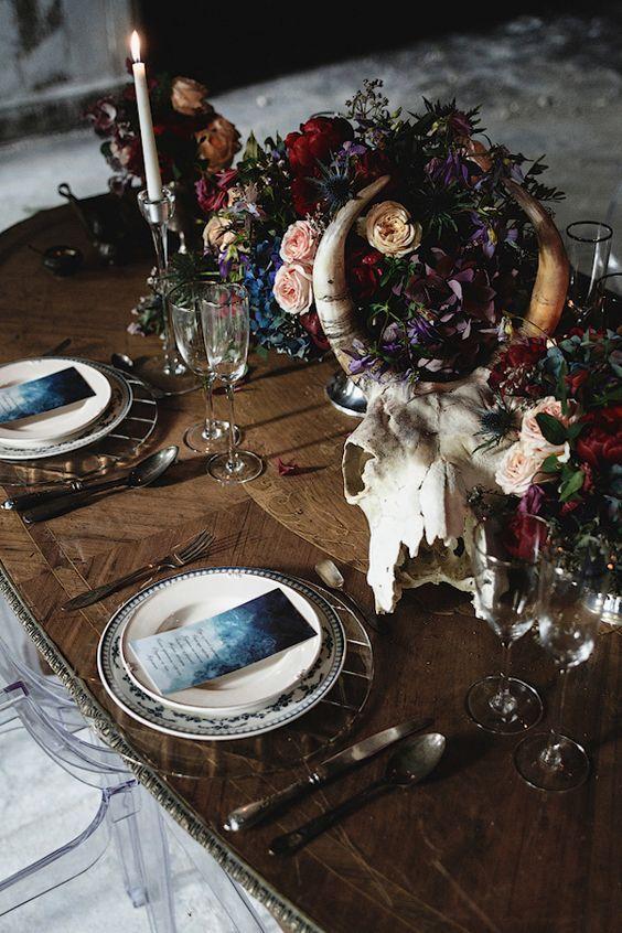 Alternative wedding setting