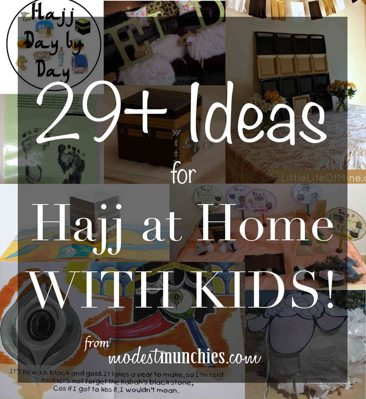 I was lacking some motivation so I thought I'd put together this post, 29+ Ideas for Hajj at home with kids for some inspiration.