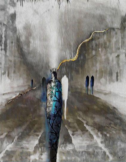 Passing Through, 2015 by KarlGustav Sevenster #KarlGustavArt  #AngelicVoices