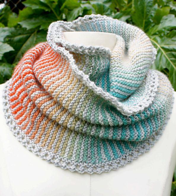 Knitting Garter Stitch Scarf : Images about free knitting patterns on pinterest