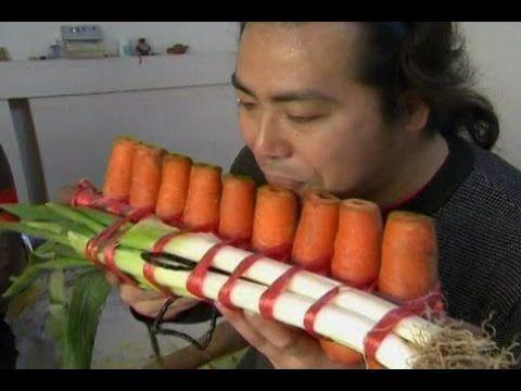 Zit er muziek in groente en fruit?