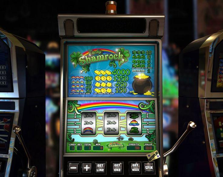 Lucky Shamrock! Classic 5 reel slot! For more games register on http://casino-goldenglory.com/