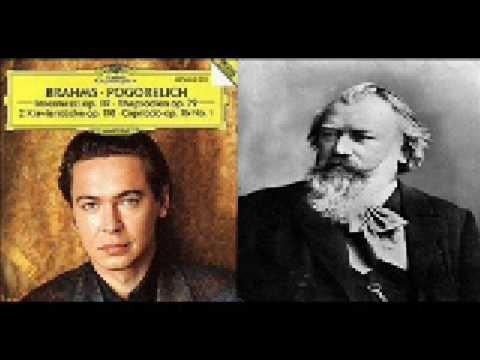 Ivo Pogorelich - Brahms - Intermezzo in A, Op. 118, No. 2