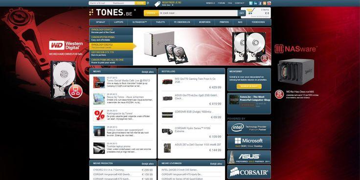 Western Digital Red Hard Disk storage skin for Tones.be.