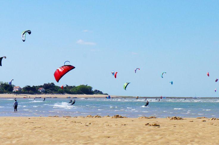 Kite-surf aux Portes-en-ré