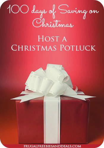 100 Days of Christmas Savings: Day 46, Host a Christmas Potluck