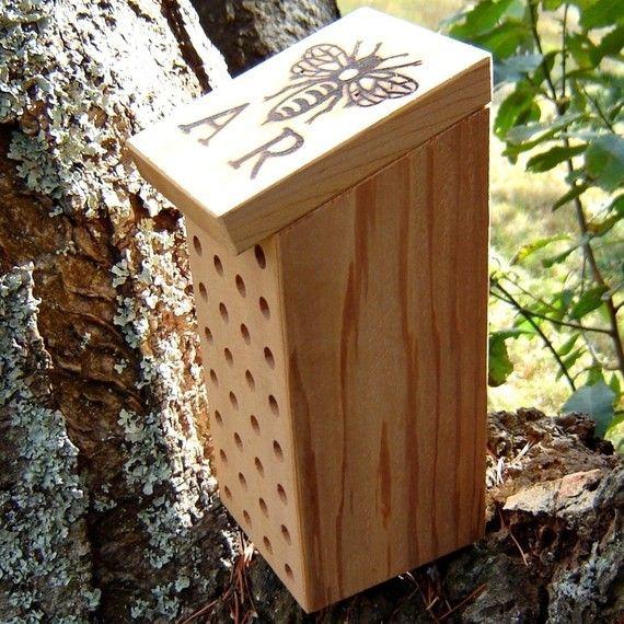 Etsy Find Inviting Mason Bees Into The Garden Gardens