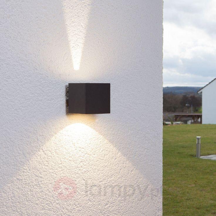 Lampa ścienna zewnętrzna LED Jarno grafitowa 9616007