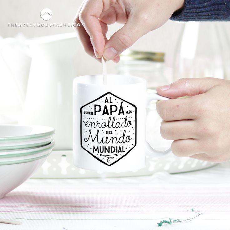 AL PAPÁ MÁS ENROLLADO DEL MUNDO MUNDIAL - THEGREATMOUSTACHE.COM