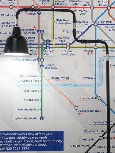 Vloerlamp London Zwart - It's about RoMi