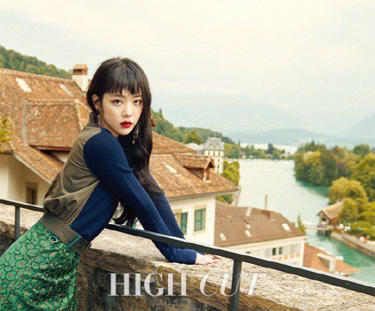 Sulli charms Switzerland in 'High Cut' pictorial | allkpop.com