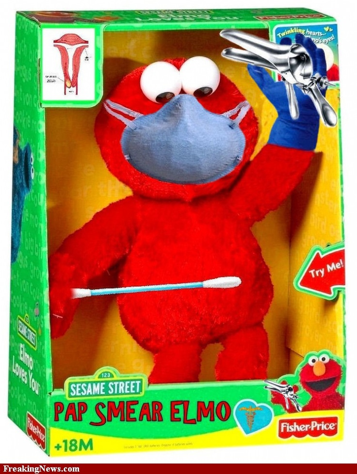 Pap Smear  Elmo!