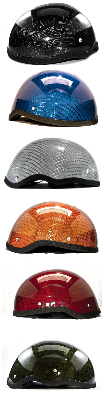Half Shell Carbon Fiber Helmets