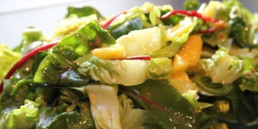 OPPSKRIFT PÅ SALAT: Ikke gjør salaten komplisert.